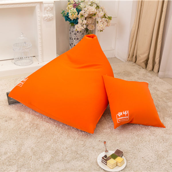 visi lycra stretching loscasle triangle bean bag chair lounge