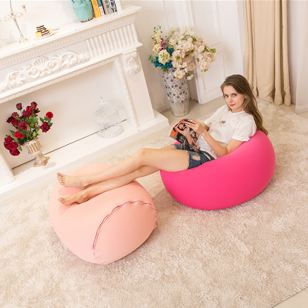 visi lycra stretching Bean barrel kids bean bag chair