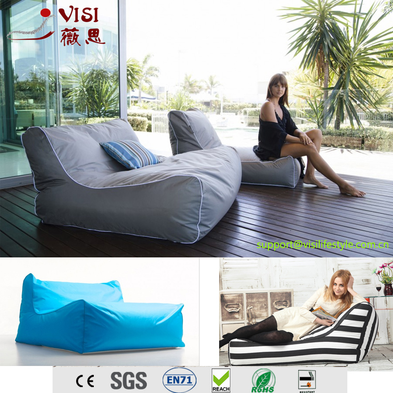 Visi Outdoor Lazy Sofa Bean Bag Lounge Cover Wholesale