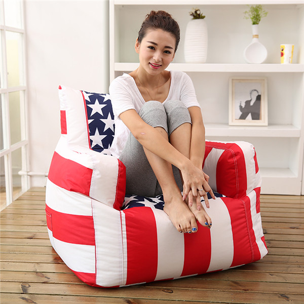 visi bean bag armchairs with back  BB254